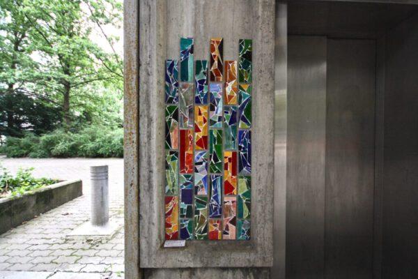 Salme Kulmar mosaiikit, kuvaaja Roosa Honkala