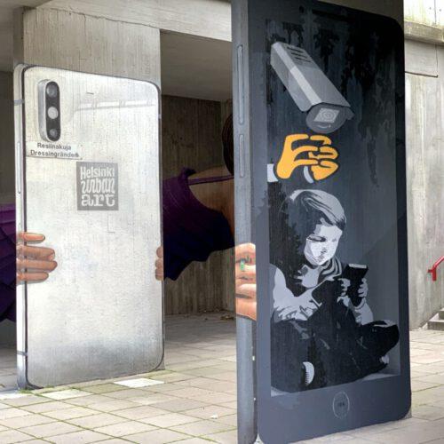 AFK musta puhelin (Jaakko Blomberg)